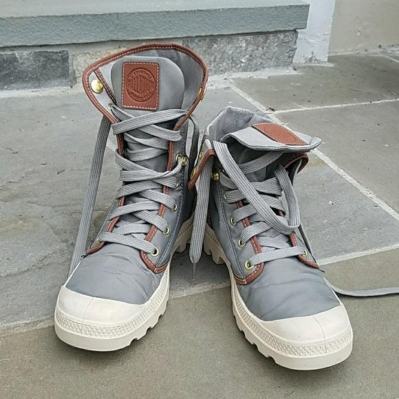 01ef3655324 🎈Palladium 💕 rare nylon boots